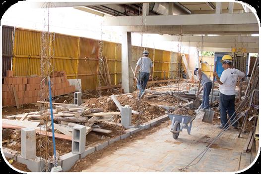 Obras da Estação Central deverão ser finalizadas em maio