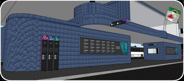 Obras de revitalização na Estação Central serão iniciadas em Julho
